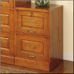 Palmetto Oak File Cabinet with 2 Drawers by Coaster (SKU: CO-5317N)