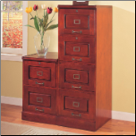 Palmetto Cherry File Cabinet with 2 Drawers by Coaster (SKU: CO-800304)