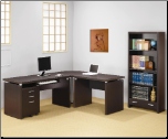 Papineau Contemporary L Shaped Computer Desk by Coaster (SKU: CO-800891-2-3)