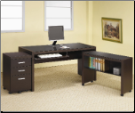 Papineau L Shape Computer Desk with Storage by Coaster (SKU: CO-800901-2-3)