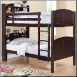 Twin Bunk Bed with Spindle Headboard and Footboard (SKU: CO-460442)