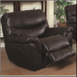 Casual Glider Recliner with Pillow Top Arms (SKU: CO-601293)