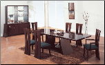 Rosa -    	Rosa-S Dining Set  By Global Furniture USA (SKU: GL-Rosa-SDSET)