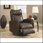 Contemporary Swivel Rocker Recliner (SKU: CO-600036)