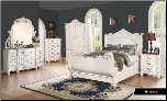 Riviera - Elegant Solid Wood Traditional Bedroom Set by Empire Furniture Design (SKU: MA-Riviera-QSET)