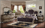 Roma - Elegant Solid Wood Traditional Bedroom Set by Empire Furniture Design (SKU: MA-Roma-QSET)