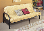 Metal Futon & Futon Mattress (SKU: CO-2345)