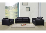 SHANGHAI WHITE /BLACKLIVING ROOM SET BY J & M FURNITURE (SKU: JM-Shanghai-17711-SET)