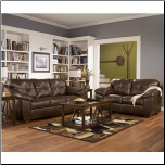 San Lucas - Harness  Leather Leaving Room Set Signature Design by Ashley Furniture (SKU: AB- 83702SET)