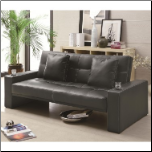 Coaster Furniture 300125 Sofa Beds Futon Styled Sofa Sleeper with Casual Furniture Style