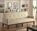 Coaster Furniture 300226 Sofa Beds Tufted Sofa Bed with Track Arms (SKU: CO - 300226)