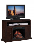 Solid Wood Electric Fireplace (SKU: CO-900342)