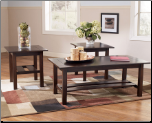 3 PC Table Set T309 Lewis Signature Design by Ashley Furniture