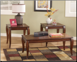 Mattie 3-in-1 Pack Occasional Table Set Signature Design by Ashley Furniture (SKU: AB- T317)