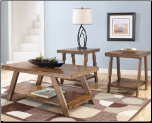 Bradley 3-in-1 Pack Occasional Table Set Signature Design by Ashley Furniture (SKU: AB- T392)