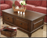 Larchmont Occasional Table Set Signature Design by Ashley Furniture (SKU: AB- T422)