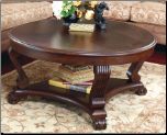 Brookfield Round Cocktail Table Signature Design by Ashley Furniture (SKU: AB- T496)