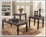 North Shore 3-in-1 Pack Occasional Table Set Signature Design by Ashley Furniture