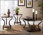 Cormick 3-in-1 Pack Occasional Table Set Signature Design by Ashley Furniture (SKU: AB- T606)