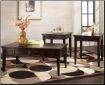 Martini Suite 3-in-1 Pack Occasional Table Set Signature Design by Ashley Furniture (SKU: AB- T651)