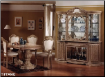 TIFFANIE  Dining Room Set by Glass-Form Colleciton