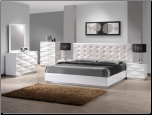 Verona Bedroom Set with Unique 3D Surfaces by J&M Furniture USA (SKU: JM-Verona-KPS)
