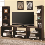 Wall Units Contemporary Entertainment Wall Unit by Coaster (SKU: CO-700034)