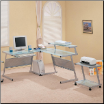 Wrightwood L-Shape Computer Desk by Coaster (SKU: CO-7171)