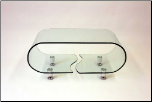 A090 Glass Table by J&M Furniture
