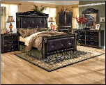 Coal Creek - King Mansion Bedroom Set Signature Design by Ashley Furniture