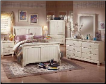 Cottage Retreat - Twin Size Bedroom Set Signature Design by Ashley Furniture (SKU: AB-B213SET)