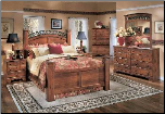 Timberline - Queen Panel Bedroom Set Signature Design by Ashley Furniture (SKU: AB-B258SET)