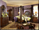 North Shore - King Canopy Bedroom Set Signature Design by Ashley Furniture (SKU: AB-B553KCAN)