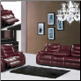 644BURG  Living Room Reclining Set
