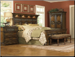 Cantabria - Panel Bedroom Set (King)