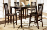 Hyland -  Counter Height Dinette Set With 4 Barstools Signature Design by Ashley Furniture (SKU: AB-D258-223)