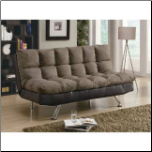 Coaster Furniture 300306 Contemporary Sofa Bed in Brown (SKU: CO - 300306)