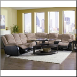 3 PCS Coaster Johanna Motion Loveseat 600362L