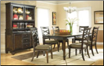 Hayley  -  Rectangular Dining Table Set Signature Design by Ashley Furniture (SKU: AB-D480-01)