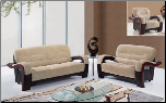 U992 Sofa in Champion Froth Microfiber by Global Furniture USA (SKU: GL-U4992)