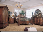 Edwardian Poster Bedroom Set (SKU: PLS-242PSSET)