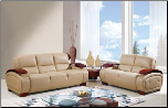 UA223 Global Furniture USA Natural Cappuccino Sofa and Loveseat (SKU: GL-UA223)