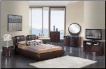 EMILY -Global Furniture USA Bedroom Emily BR CH 8269-BR/EMILY-W By Global Furniture