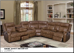 U7303C-WALNUT-SECTIONAL (SKU: GL-U7303)