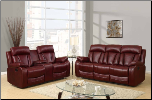 U97601 Reclining Living Room Set in Burgundy (SKU: GL-U97601)
