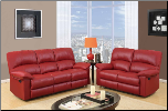 U99270 Reclining Living Room Set in Red (SKU: GL-U99270RED)