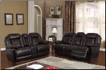 U8304 Reclining Living Room Set in Charcoal (SKU: GL-U8304LRSET)