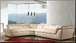 397  ITALIAN LEATHER SECTIONAL BY J&M FURNITURE USA (SKU: JM-397)