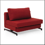 K43-1 White /Red Convertible Sofa Bed (SKU: JM-K43-1)