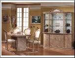 LUCIA Dining Room Set by Glass-Form Colleciton (SKU: GF- LUCIA)